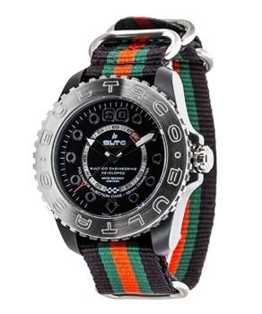 BULTACO SPEEDOMETER WATCH 45 SOLOT BLACK MAT - BLPB45A-CB2-T1 T1
