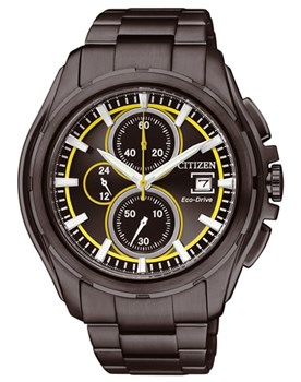 WATCH CITIZEN ECO-DRIVE CHRONO CA0275-55F STEEL CAB