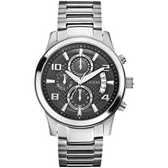 WATCH MEN STEEL ANALOG W0075G1 GUESS