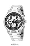 MEN WATCH CASE AND BRACELET STEEL CHRONO 40-2863-0-1 Potens