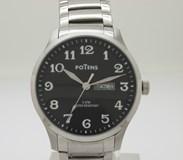 Reloj Caballero POTENS acero 40-2546-0-2