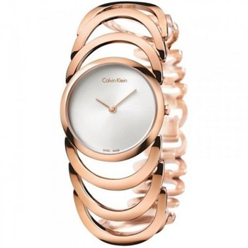 CALVIN KLEIN STEEL ROSE IP K4G23626 WATCH