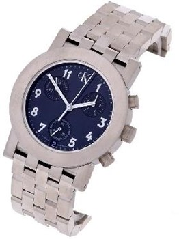 Chronographe marine Calvin Klein montre homme bleu K8171