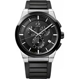 WATCH CALVIN KLEIN BLACK RUBBER K2S37CD1 DART