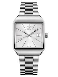 Reloj Calvin Klein rectangular Gentle Lady K3L33166