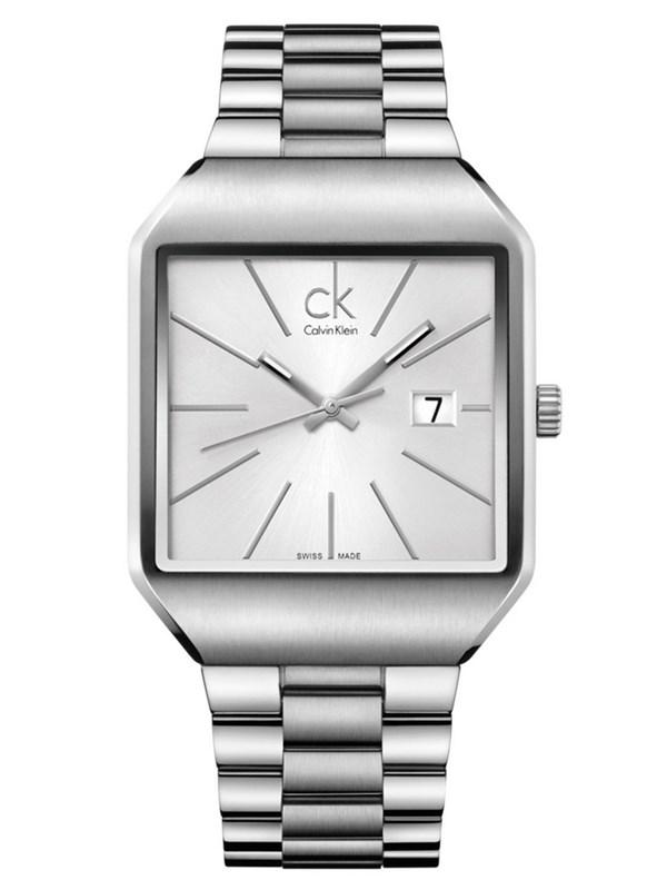Reloj Calvin Klein rectangular Gentle Man  K3L31166