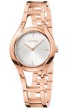 CALVIN KLEIN WOMEN WATCH STEEL ROSE IP K6R23626