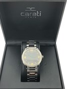 Reloj Carati Paris con Diamantes wn/bla-10