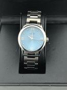 MONTRE CARATI PARIS SWISS MADE 8 DIAMANTS WN/W-13