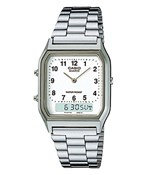 WATCH CASIO ANADIGITAL STEEL AQ-230A-7B