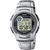 CASIO WATCH DIGITAL STEEL W-213D-1AVES