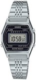CASIO WATCH DIGITAL WOMEN SILVER LA690WA-1DF