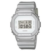 CASIO WATCH G-SHOCK SILVER METALLIC DW-5600SG-7ER