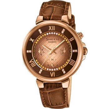 CASIO SHEEN WOMAN WATCH SHE-3041PGL-5A