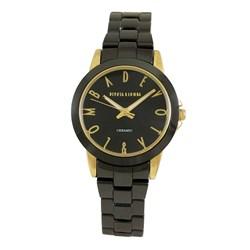 Reloj cerámica negra mujer 8435432513064 DEVOTA Y LOMBA Devota & Lomba