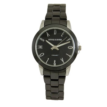 WATCH CERAMIC BLACK WOMAN 8435432513040 DEVOTA & LOMBA
