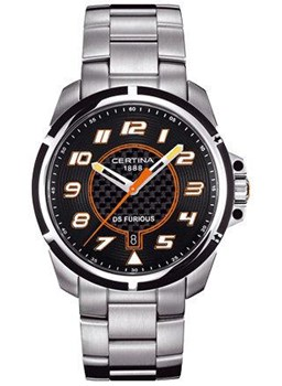 Reloj Certina DS Furious Black C0114102120200