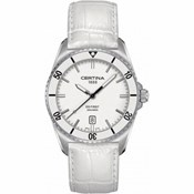 CERTINA WATCH DS FIRST BEZEL CERAMIC WHITE C014.410.16.011.00