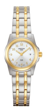 CERTINA WATCH LADY TWO-TONE 25071954412
