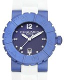 CHAUMET CLASS ONE BLUE WATCH W1722D-33Q