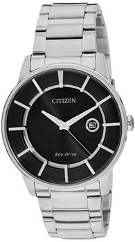 SUBMERSIBLE MEN CITIZEN STEEL AW1260-50E WATCH