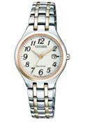 WATCH CITIZEN ECO-DRIVE WOMEN S TWO-TONE EW2486-87A