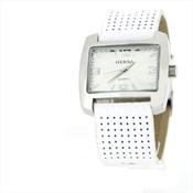 Montre bracelet blanc  HSC1002B- Hersa