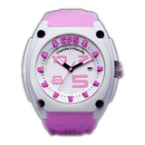 Montre le CP5 rose et blanc S & O13BL S&O13BL