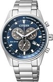 MONTRE CHRONO HOMME CITIZEN ECO DRIVE ACIER AT2390-82L