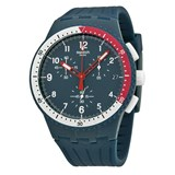 BLUE SUSN405 SWATCH CHRONOGRAPH WATCH