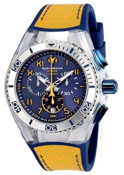 WATCH YELLOW CALIFORNIA CRUISE TECHNOMARINE TM-115070