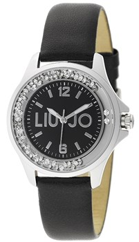 WATCH DANCING MINI SKIN BLACK LIU JO TLJ742