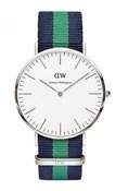 WATCH DANIEL WELLINGTON NATO BLUE GREEN 0205DW