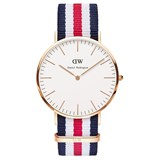 WATCH DANIEL WELLINGTON RED AND BLUE 0102DW