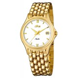 Reloj de oro caballero 452/d Lotus