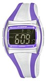 DIGITAL WATCH WHITE AND PURPLE K5590/6 CALYPSO