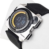 DIGITAL WATCH WITH STAINLESS STEEL CASE DZ-7222 DIESEL