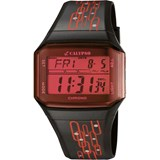 DIGITAL WATCH BLACK AND RED K5589/7 CALYPSO