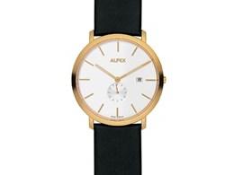 Reloj Dorado QZ EW 43 Alfex 5585/025