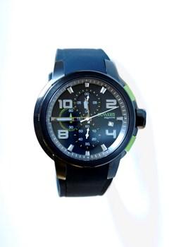 DUWARD MAN BLACK AND GREEN WATCH D85510.53