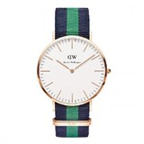 RELÓGIO DW00100005 CLASSIC WARWICK MAN ROSE 40 MM DANIEL WELLINGTON