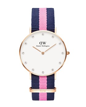 RELÓGIO DW00100077 CLASSIC WINCHESTER LADY ROSE 34 MM DANIEL WELLINGTON