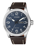 MONTRE ECO DRIVE MENS EN ACIER CITOYEN SANGLE BM8530-11L Citizen