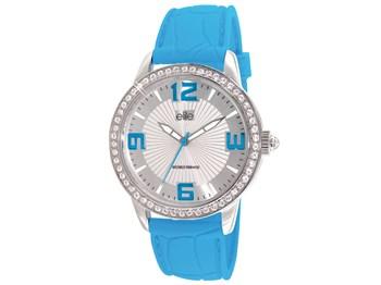 Montre le caoutchouc Elite bleu E52929-208