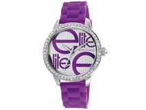 Watch rubber Elite lila E52469-G215