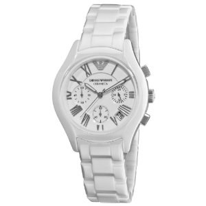 EMPORIO ARMANI CERAMIC WOMAN AR1404 ANALOG WATCH