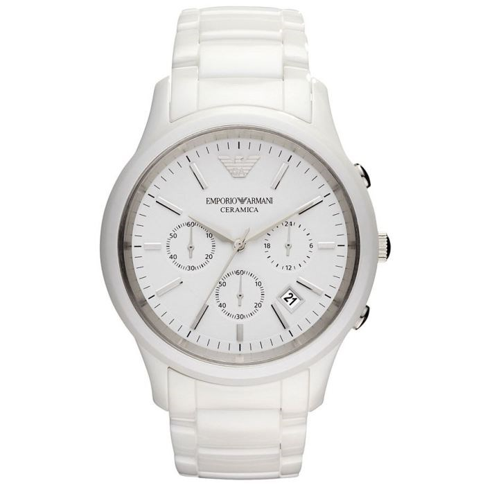 Reloj Emporio Armani Ceramica chrono AR1453