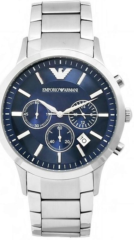 Reloj Emporio Armani esfera azul AR2448