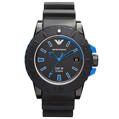 Reloj Emporio Armani Sportivo blue nylon AR5966