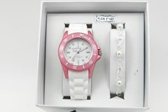 WATCH CASE FOR GIRL NOWLEY WITH BRACELET-SILVER-L-J/111